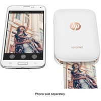 HP Sprocket Portable Photo Printer, print social media photos on 2x3 sticky-backed paper - white (X7N07A) - Walmart.com
