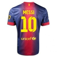 Nike #10 Messi Barcelona Home 2011-12 Soccer Jersey (US Size: M)