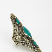 Silk Road Triple Stone Ring - Urban Outfitters