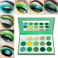 Paradise Green Diamond Palette