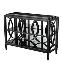 Black Entryway Table | Eichholtz Forsythe