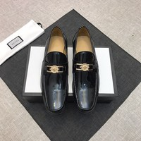 Gucci Men's Business Recreation Leather Shoes