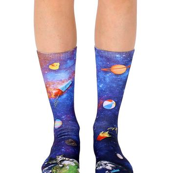Space Junk Crew Socks