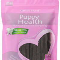 Get Naked Puppy Health Dental Chew Sticks Sm 6.2 oz