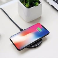 Qi Wireless Charger For iPhone X/8/ 8 Plus