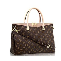 Louis Vuitton Monogram Canvas Pallas Handbag Dune Article: M50066