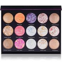Hidden Gems 15-Color Face & Body Baked Palette