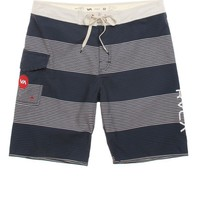 RVCA Micro Civil Boardshorts - Mens Board Shorts - Blue - 3