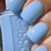 Essie Nail Polish (E800-Bikini So Teeny) Summer Collections 2012 NEW BLUE HOT