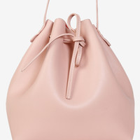Oversized Pink Bucket Bag