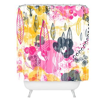Jenean Morrison You Might Think Shower Curtain