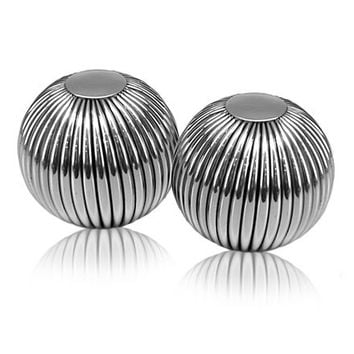 Raya Striped Spheres - Set of Two