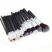 Hot Sale Hot Deal On Sale Beauty Make-up 15-pcs Silver Make-up Brush [9647071567]