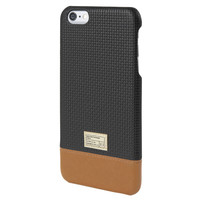 Hex: Focus Case For iPhone 6 Plus - Black Woven Leather (HX1837-BKWV)