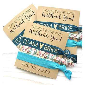 I Can't Tie the Knot Without You, Bridesmail Proposal Favors