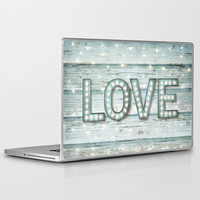 Love is the Light of Your Soul (LOVE lights II) Laptop & iPad Skin by soaring anchor designs ⚓   Society6