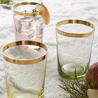 Gold-Dipped Tumbler