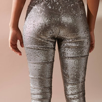 UO Leandra Sequin Legging | Urban Outfitters