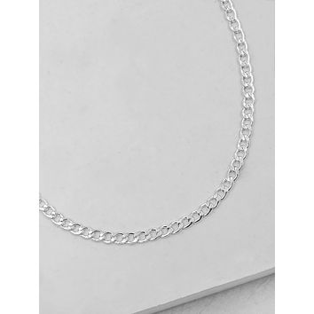 Cuban Link Necklace - Silver