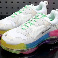 Balenciaga Tripe-S White Colorful