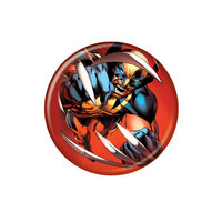 Wolverine Claw Close-Up Button