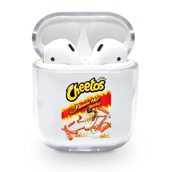Clear Hot Cheetos Airpods Case