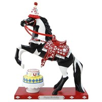 Trail of Painted Ponies from Enesco Happy Birthday Figurine 8.75 IN