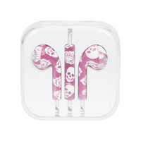 MiCase Skull Print Earbuds