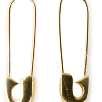 Lauren Klassen safety pin earrings