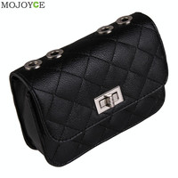 New Lady Quilted Chain Strap Shoulder Bag Women Messenger Bags for Evening Party Wedding Clutch Women Leather Handbag Sac