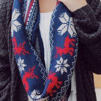 Holiday Charm Infinity Scarf
