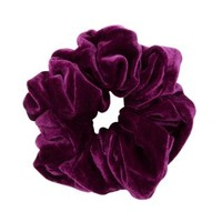 Purple Velvet Oversized Scrunchie