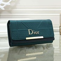 Dior Multicolor Small Wallet Fashion Long Wild Clutch bag