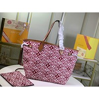 LV Louis Vuitton BEST QUALITY MONOGRAM CANVAS SINCE 1954 NEVERFULL HANDBAG TOTE BAG