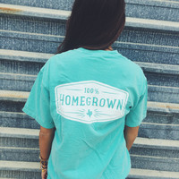 UNISEX Homegrown Pocket Tee- Chalky Mint