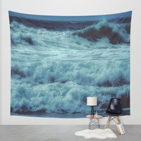 Come a Little Closer Wall Tapestry by Ducky B