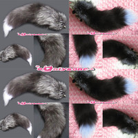 Fur tail charm light real popular second coming ★☆
