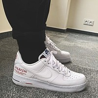 Nike Air Force 1 NBA Paris low-top casual and versatile sports shoes