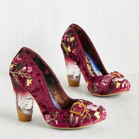 Irregular Choice Alternate Individuality Heel | Mod Retro Vintage Heels | ModCloth.com