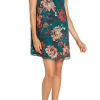 Ali & Jay Wonderful Things Floral Ruffle Neck Shift Dress | Nordstrom