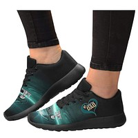 Awesome Love #1 Eagles Fans Dad Sneakers| Eagle Gifts For Dad