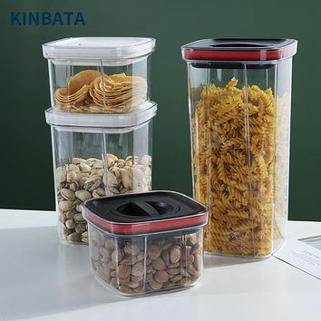 Japan Kinbata Airtight Jar Kitchen Grain Storage Box Food Airtight Storage Plastic Storage Jar