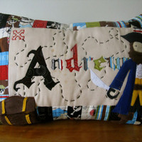 Custom-designed Personalized Tooth Fairy Pillow