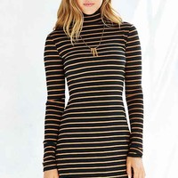 BDG Kaylyn Ribbed Turtleneck Dress
