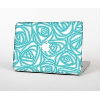 """The Vector Subtle Blues Pattern Skin Set for the Apple MacBook Air 11"""""""