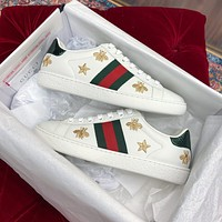 GG men's and women's low-top sneakers shoes