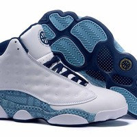 Air Jordan 13 Retro QUAI 54 White Men Basketball Shoes Size US 8-13