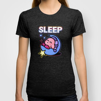 Kirby Sleep T-shirt by Likelikes