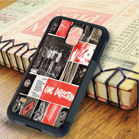 One Direction Best Song Ever Art Collage Samsung Galaxy S5 Case
