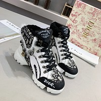 dior fashion men womens casual running sport shoes sneakers slipper sandals high heels shoes 358